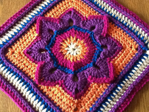 Eight Pointed Flower katsgrace