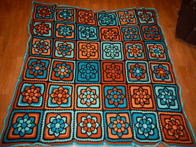 Julieannys Stained Glass Afghan Square Coupon Code Julie Yeager